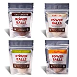Paleo Angel Power Balls Healthy Paleo Approved Gluten Free Protein Snack Bars (Variety 4-Pack)