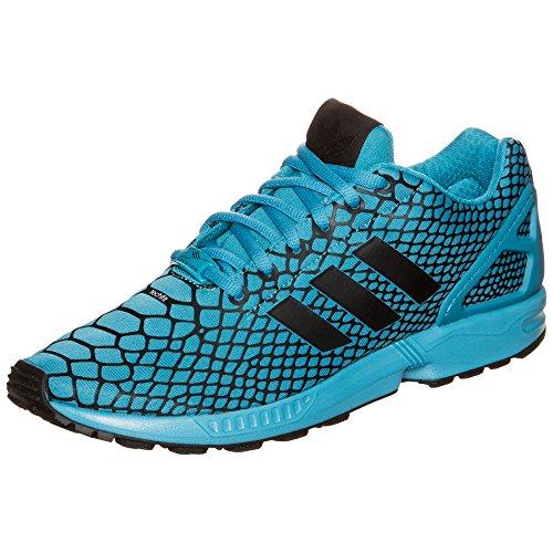 Adidas Originals ZX FLUX TECHFIT Blau Herren Sneakers Schuhe Neu