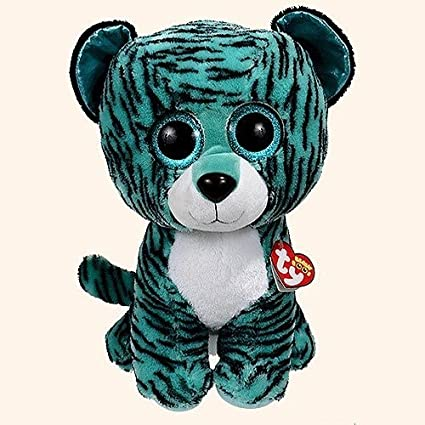 4224b55bebb Image Unavailable. Image not available for. Color  Ty Beanie Boos Tess -  Tiger Large (Justice Exclusive)