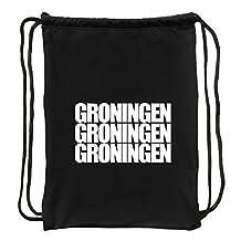 Eddany Groningen three words Bolsa deportiva