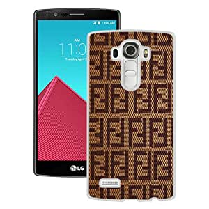 Popular Custom Designed Case For LG G4 With Fendi White Phone Case