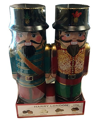 - Harry London Gourmet Chocolate Nutcracker Tin (pack of 2)
