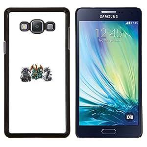 LECELL--Funda protectora / Cubierta / Piel For Samsung Galaxy A7 A7000 -- P0kemon Encuentro --