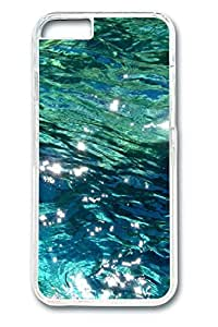 iPhone 6 Case - Ocean Water Illustrators Series Protective Hard Clear Case Cover Skin For iPhone 6 (4.7 inch)