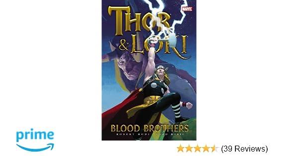 Amazon com: Thor & Loki: Blood Brothers (9780785149682): Rob