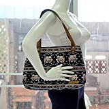 Bohemian / Handbags / Purses / Tote bags / Anniversary Gifts / Christmas Gift Ideas / Black / Brown Elephant