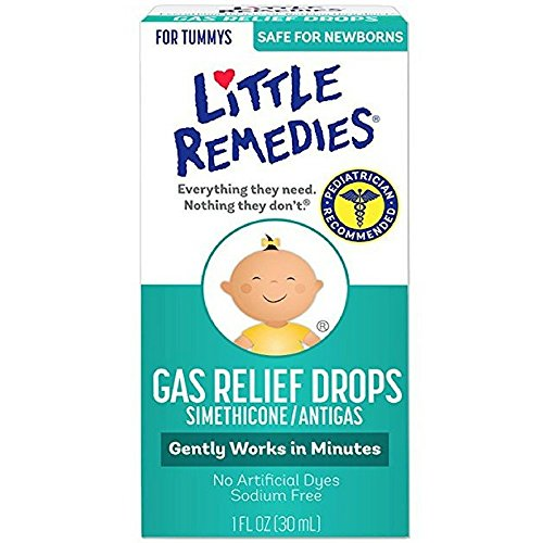 Little Remedies Tummys Gas Relief Drops, Natural Berry, 3 Co