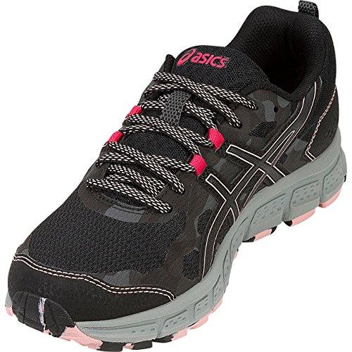 ASICS 1012A039 Women's Gel-Scram 4 Running Shoe, Black/Dark Grey - 5.5 B(M) US by ASICS (Image #5)