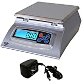 My Weigh KD-8000 Kitchen And Craft Digital Scale + My Weigh AC Adapter (1-Pack)