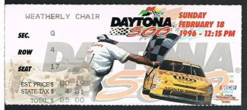 1996 Daytona 500 NASCAR Ticket Stub - Daytona 500 Tickets