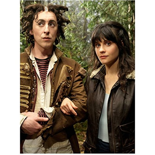 Tin Man Zooey Deschanel with Alan Cumming as DG and Glitch 8 x 10 inch - Cumming Men
