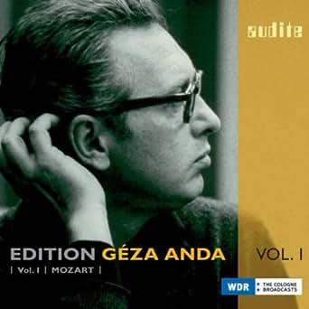 Amazon.com: Edition Géza Anda, Vol.I: Mozart: Constantin ...