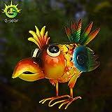 G-Solar Solar Powered LED Light Animal Outdoor ,Garden, Patio,Lawn, metal Flamingo Decorative gifts