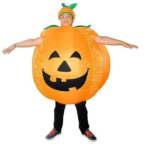 più economico di modo attraente acquista per ufficiale Gonfiabile Halloween Zucca Costume Cosplay Body Saltare ...