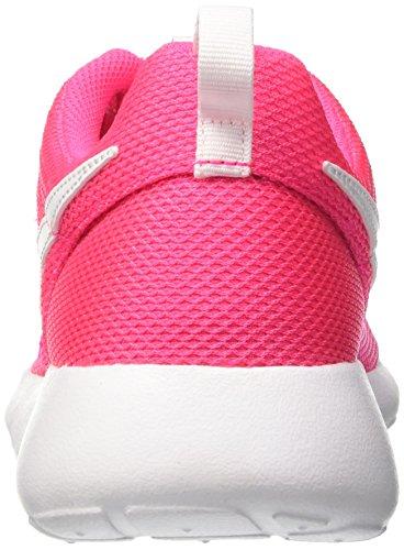 Nike Barn Roshe En Se (gs) Löparsko Hyper Rosa / Vit