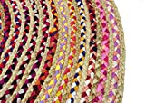 Cotton Craft Jute & Cotton Multi Chindi Braid