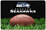 GameWear NFL Seattle Seahawks Classic Football Pet Bowl Mat, Large