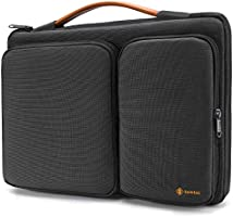 tomtoc 360 Protective Laptop Sleeve for 2020 Dell XPS 15, 15-inch MacBook Pro w/Touch Bar (A1990 A1707), ThinkPad X1 Yoga...
