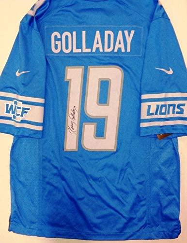 Kenny Golladay Autographed Detroit Lions Jersey - Autographed NFL ...