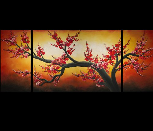 chinese flower painting cherry blossom tree painting