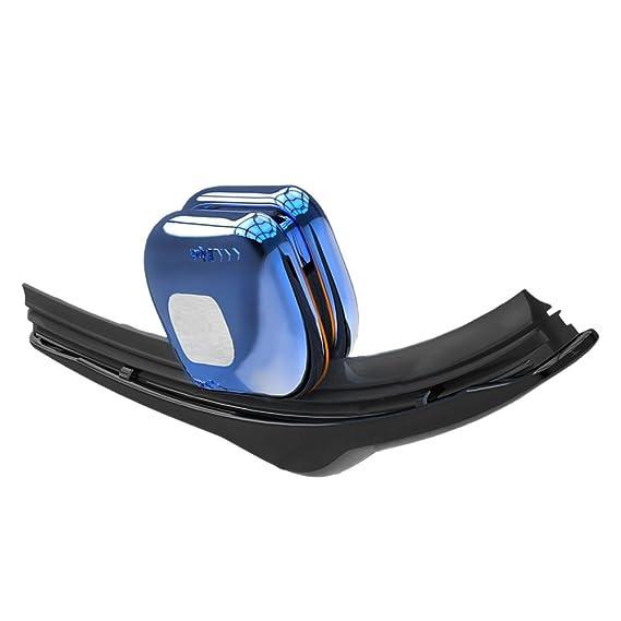 Limpiador de limpiaparabrisas de la tira de goma del parabrisas del coche Restaurador de la lámina (azul): Amazon.es: Coche y moto