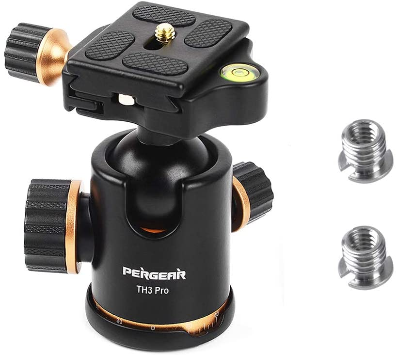 Cabezal de bola para trípode de cámara DSLR TH3 Pro