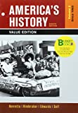 img - for Loose-leaf Version of America's History, Value Edition, Volume 2 8e & LaunchPad for America's History Volume II 6e & America: A Concise History, Volume II 6e (Six Month Access) book / textbook / text book