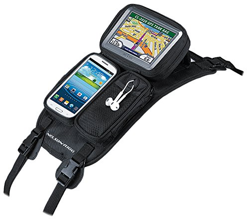 Nelson-Rigg CL-GPS-ST Black Strap Mount Journey GPS Mate