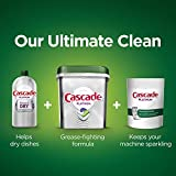 Cascade Platinum ActionPacs + Oxi, Dishwasher