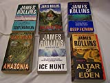 Download James Rollins Set of 6: Subterranean, Excavation, Deep Fathom, Amazonia, Ice Hunt, Altar of Eden in PDF ePUB Free Online