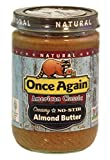 Once Again Almond butter No Stir, 16 oz
