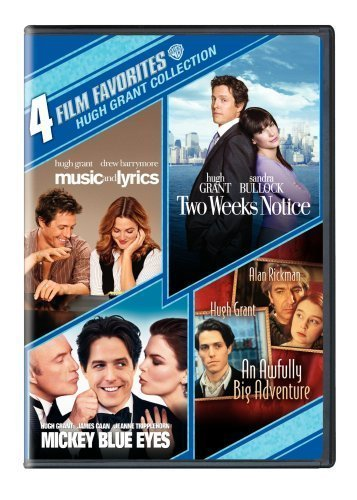 4 Film Favorites: Hugh Grant (An Awfully Big Adventure, Mickey Blue Eyes, Music and Lyrics, Two Weeks Notice) by Warner Home Video by Various