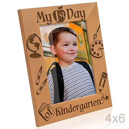 Kate Posh - My First Day of Kindergarten Picture Frame (4x6 Vertical) ()