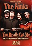 The Kinks - You Really Got Me 3 DVDs