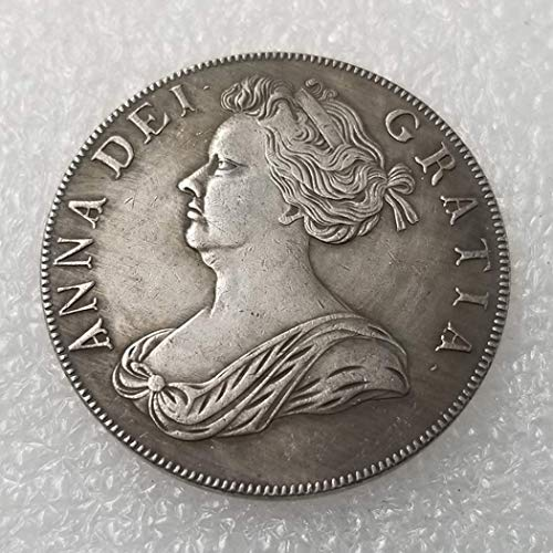 OppoLing 1706 English British Old Coin-UK Old Coin - Dollar Old Coin - Uncirculated/Collectable -Great United Kingdom Coins-Discover History of Coins Best Product (English Coins)