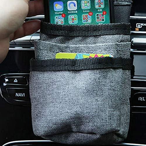 gris Susue Sac de rangement multifonction pour voiture 14.5*9cm