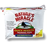 Nature's Miracle Quick Results Training Pads, 80-Count (P-5280)