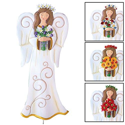 Seasonal Angel Garden Stake