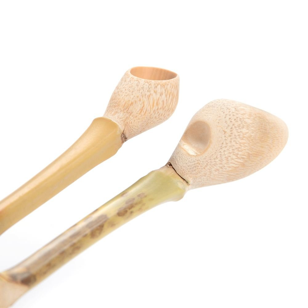 SODIAL 1 Piece Super-grade Bamboo Matcha Powder Spoon Natural Bamboo Joints Gift Professional Japane Tea Ceremony Tools scoop