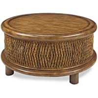 Progressive Furniture Turk Round Woven Cocktail Table