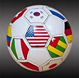 2014 fifa world cup ball - International Fifa Country Flags Soccer Ball Free Bungee Ball Net (4)