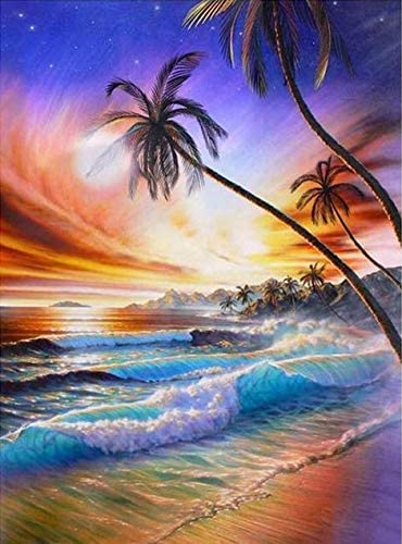 DIY 5d Diamond Painting kit for Adults Diamond Art kit,Paint with Diamonds Embroidery Painting Cross Stitch 11.8 x 15.7 inch