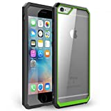 iPhone 6s Plus Case, iVAPO [Shock Absorbent] iPhone 6 Plus Case Clear PC/ TPU Bumper, Hybrid Protective Case for Apple iPhone 6s Plus (2015) & iPhone 6 Plus (2014) (MM613) (Green)