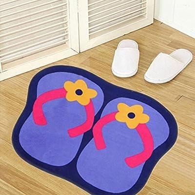 Iuhan Floor Mats Bedroom Carpet Door Household Ground Bathroom Household Rug