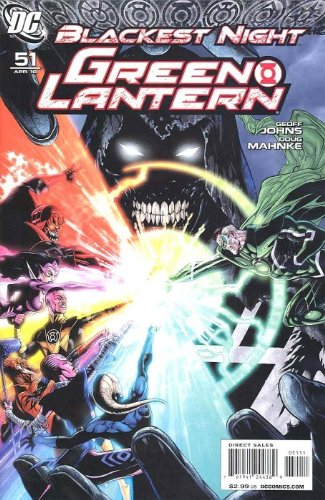 "Green Lantern #51 'Blackest Night"" Tie-in"" ebook"