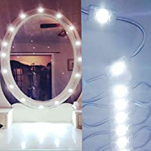 Toogod Make up Mirror LED Light Kit for Makeup Vanity Mirror,Included Power Adapter and Brightness Dimmer