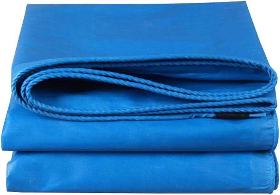 LEGOUGOU Revestimiento De Suelo De Lona Versátil, Azul, Duradero, Camping, Pesca, Jardinería: Protección UV, 480 G / M2. zionale (Tamaño : 2MX3M)