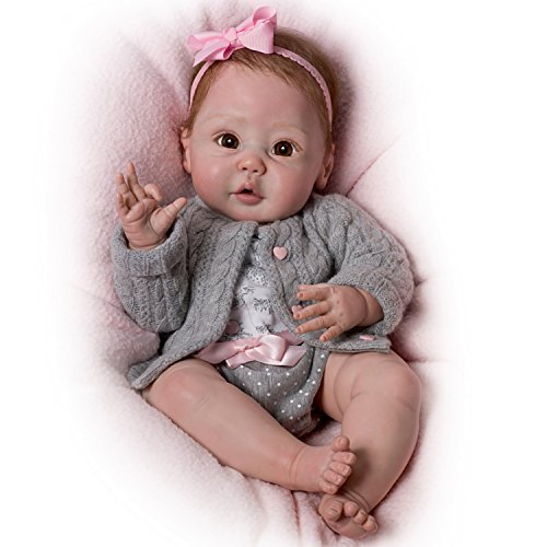 Cuddly Coo! Coos When Cuddled - So Truly Real Lifelike, Interactive & Realistic Baby Doll 18-inches  by The Ashton-Drake Galleries