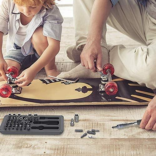 DXX-HR 41 1ドライバーセット、機械自転車修理、モデル解体、家庭用電気修復のための多機能精密磁気ビットラチェットレンチキット