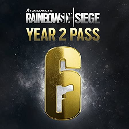 Rainbow Six Siege - Season Pass 2 - PS4 [Digital Code]